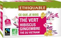 Thé vert Hibiscus Gingembre - Prodotto - fr