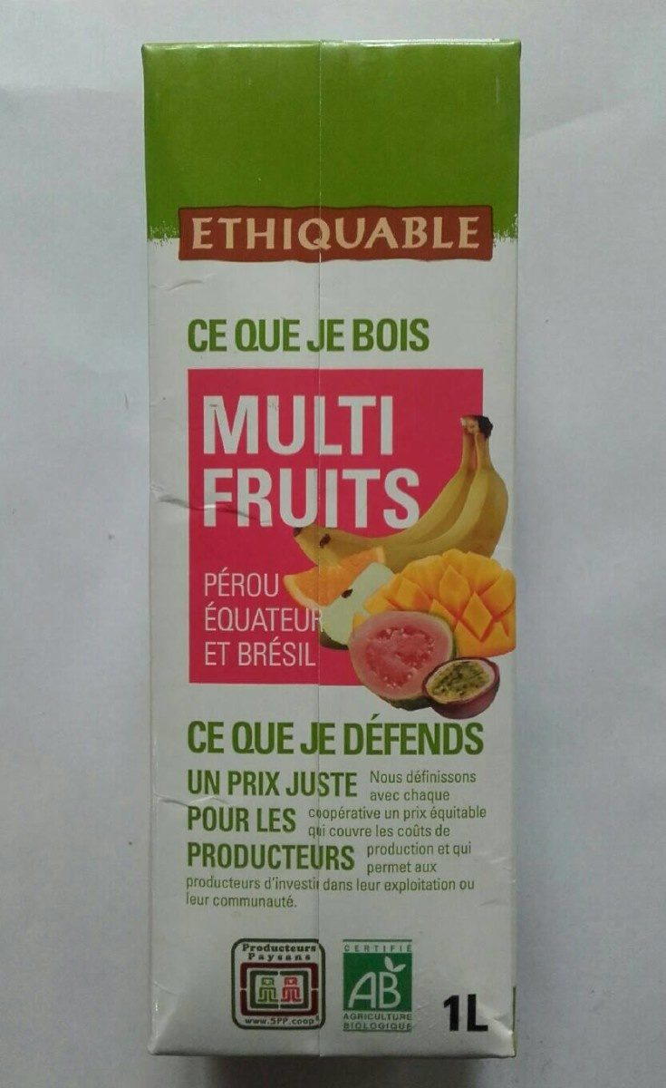 Multi Fruits - Product - fr