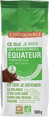 Café equateur arabica moulu de haute altitude - Product - fr