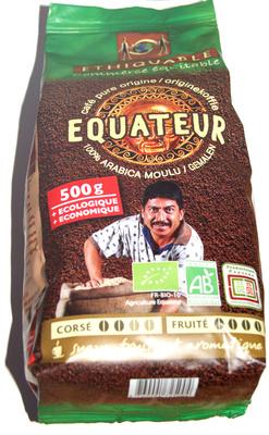 Café equateur arabica moulu de haute altitude - Product