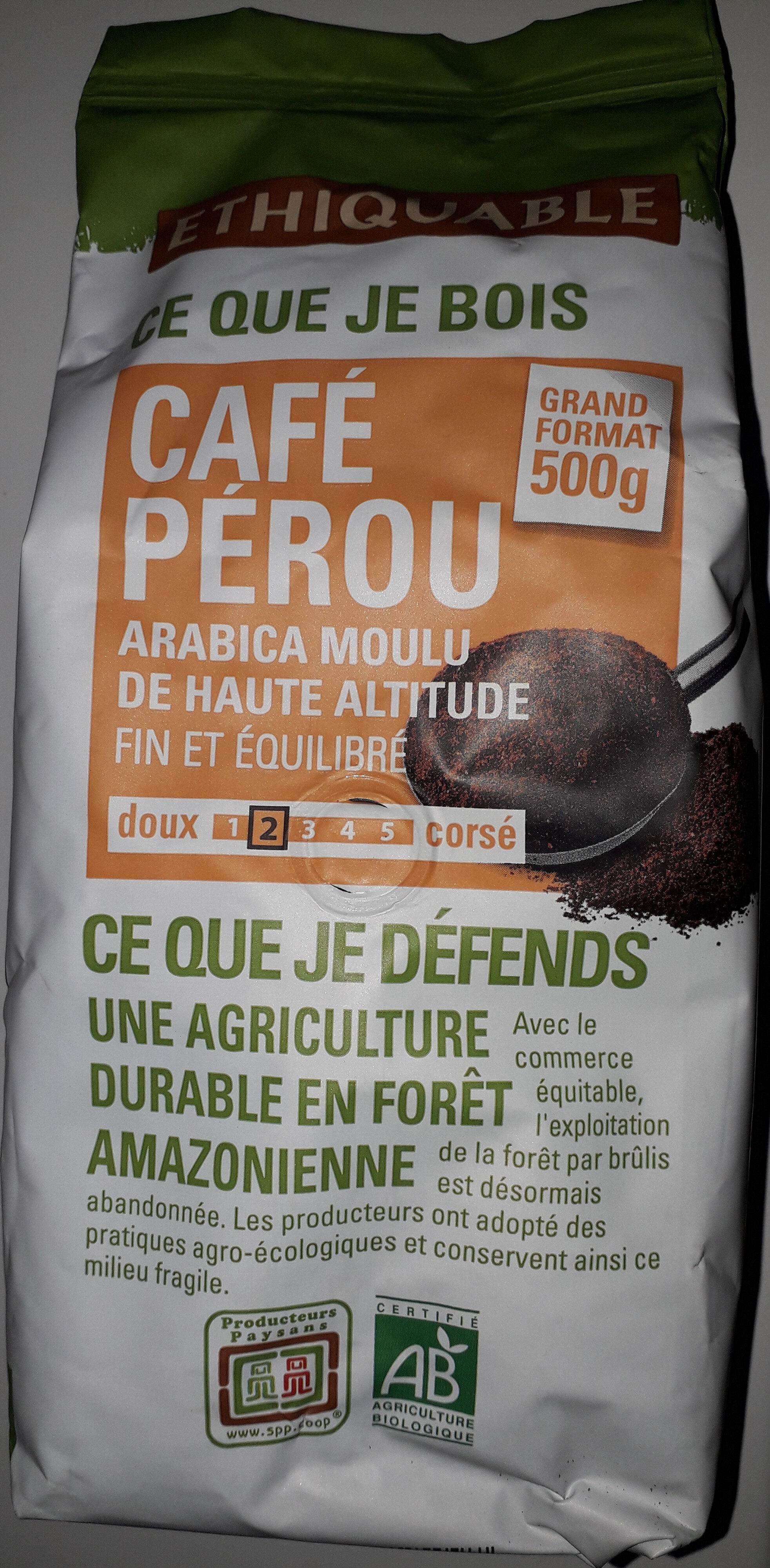 Café Pérou - Product