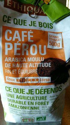 Café Pérou - Ingredients