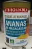 Ananas de Madagascar - Produit