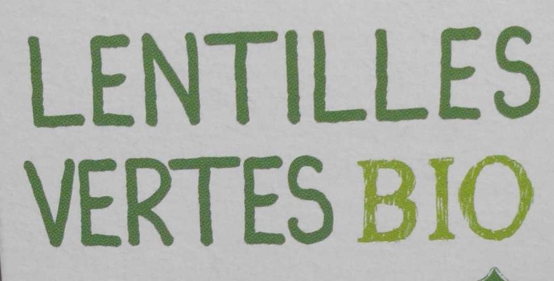 Lentilles vertes bio - Ingrédients - fr
