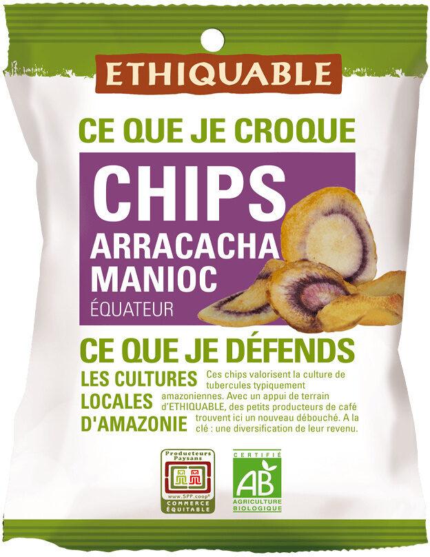 Chips Arracacha Manioc Équitable et Bio - Produit - fr