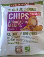 Chips Arracacha Manioc Équitable et Bio - Product