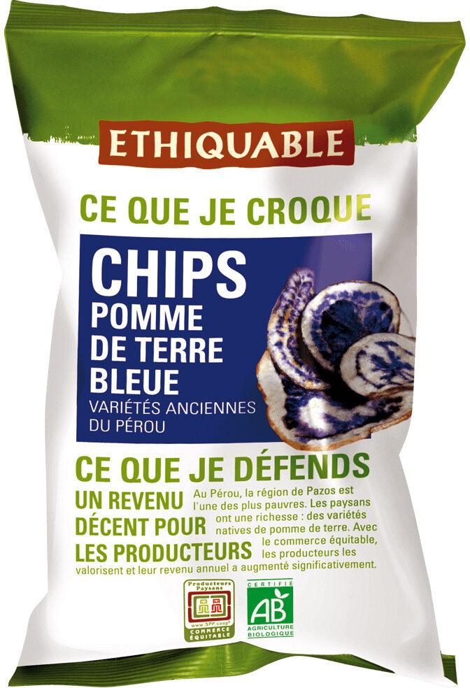 Chips pomme de terre bleue - Product - fr