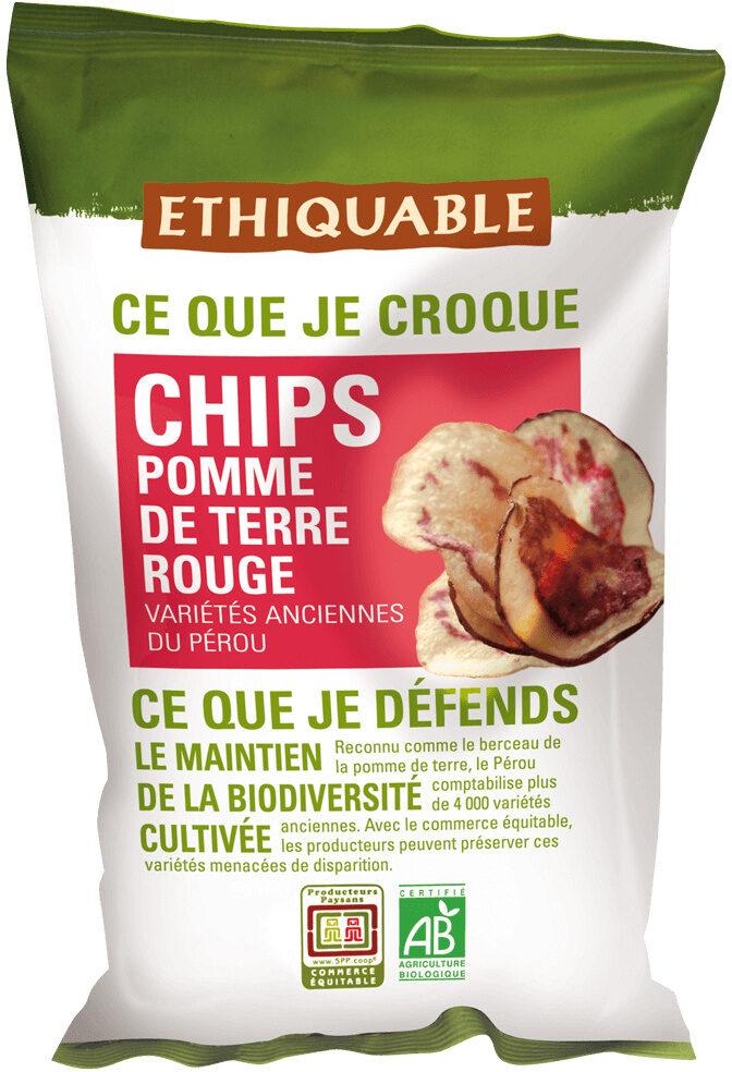 Chips de pomme de terre rouge - Product - fr