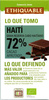 Chocolate negro Haití 72% cacao - Producte