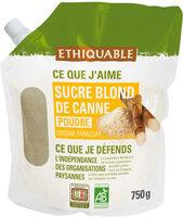 Sucre blond de canne en poudre - Produit - fr