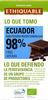 Chocolate negro cacao de ecuador ecológico