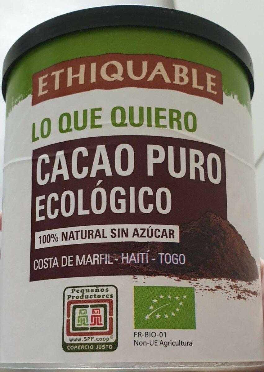 Cacao puro ecológico - Product - es