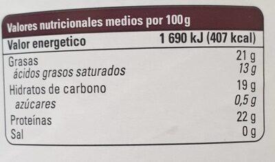 Cacao puro ecológico - Voedingswaarden - es