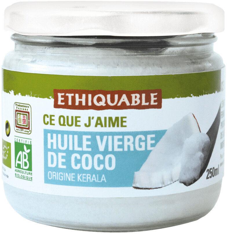HUILE VIERGE DE COCO - Product - fr