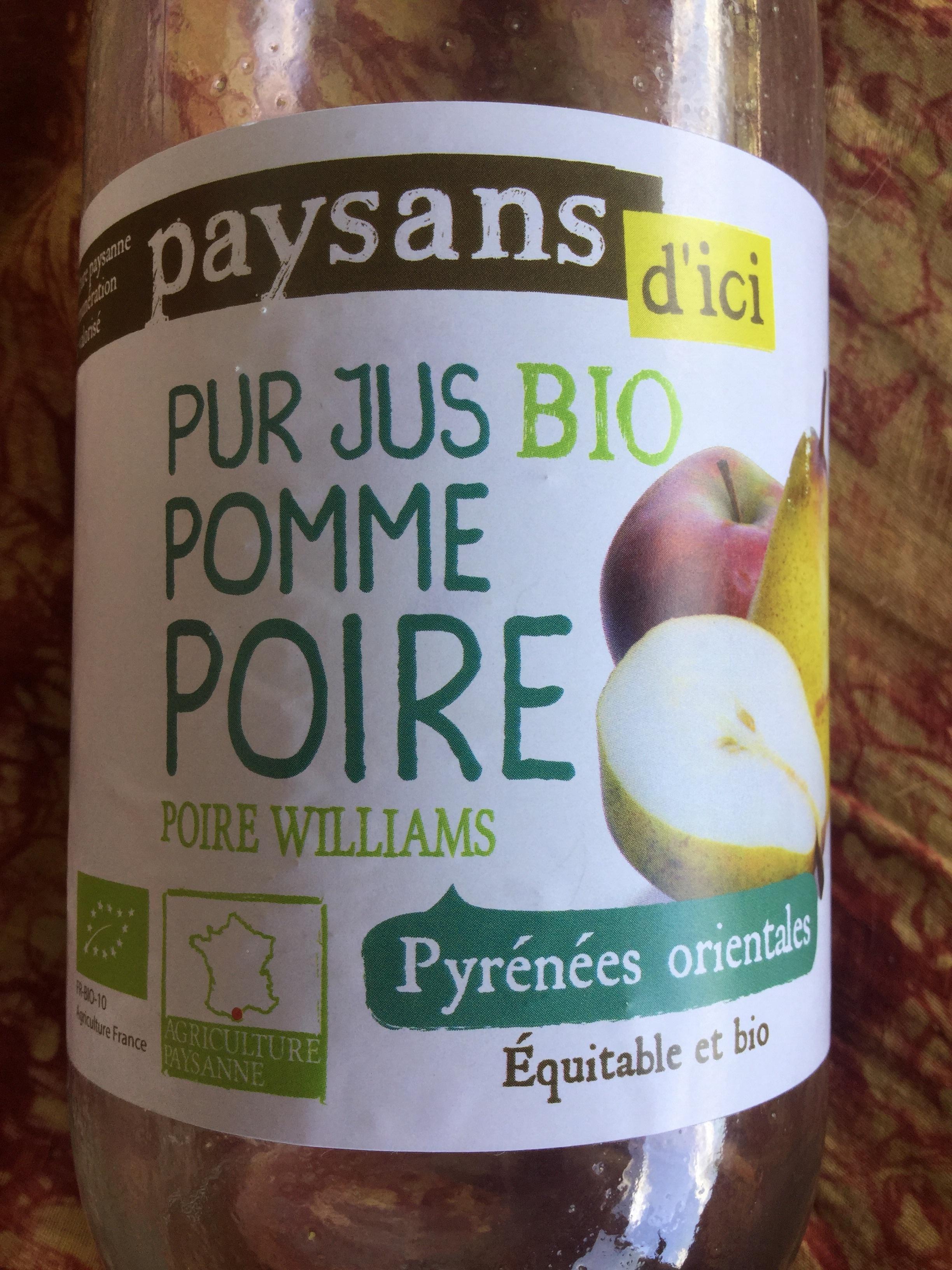 Pur jus bio pomme poire - Prodotto - fr