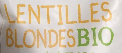 Lentilles blondes bio - Ingrédients - fr