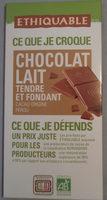 Chocolat au lait tendre et fondant - Product