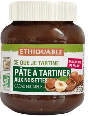 Pâte à tartiner aux noisettes - Produit - fr