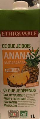 Ananas pur jus Madagascar - Product