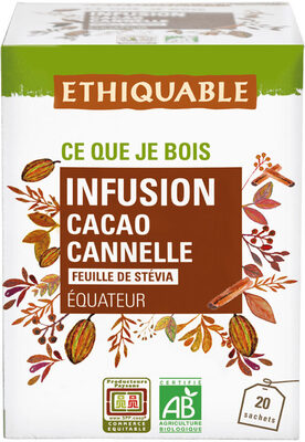Infusion cacao et cannelle - Produit - fr