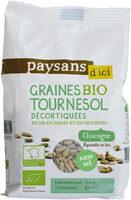Graines bio tournesol décortiquées - Produit - fr