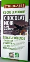 Chocolat noir café amande - Product
