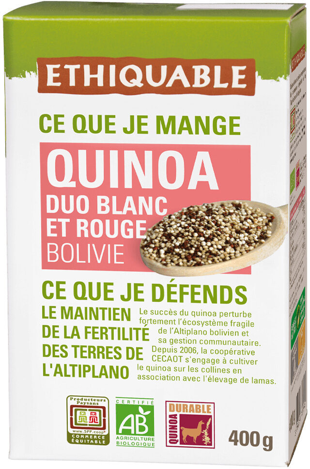 Duo de quinoa - Product - fr
