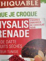 Pâte de datte et fruits séchés - Physalis Grenade - Product