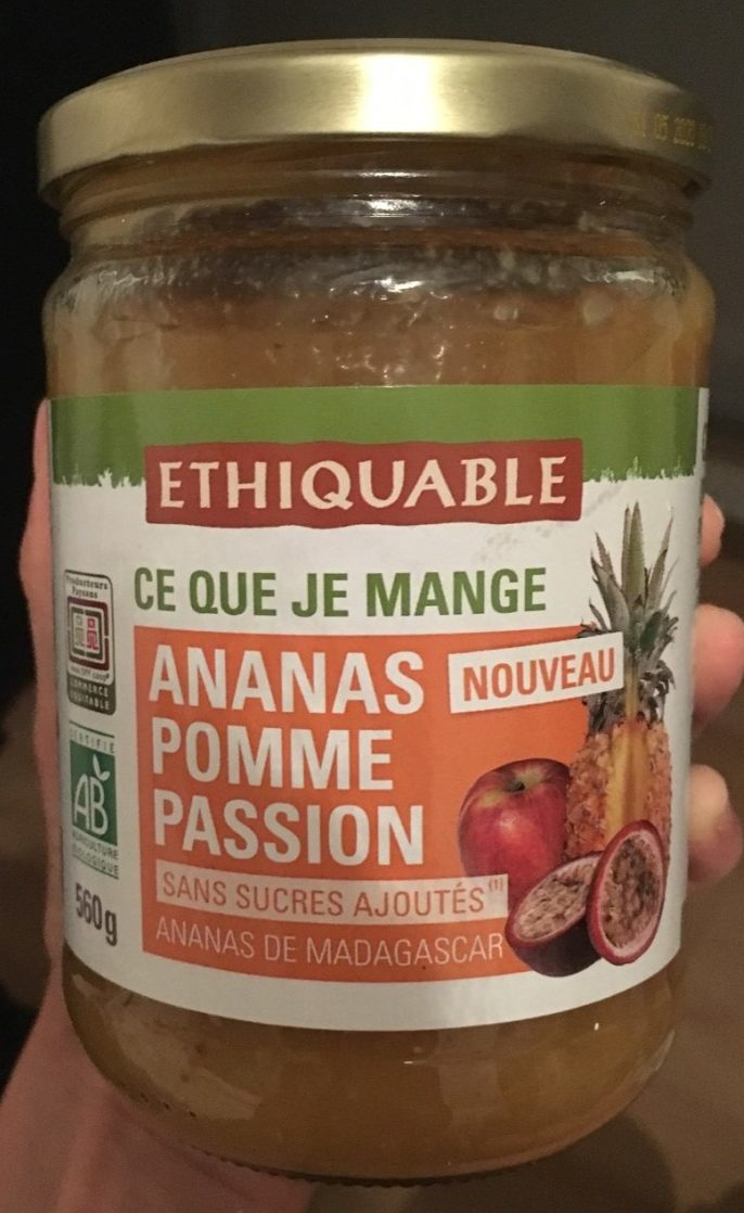 Ananas pomme passion - Product