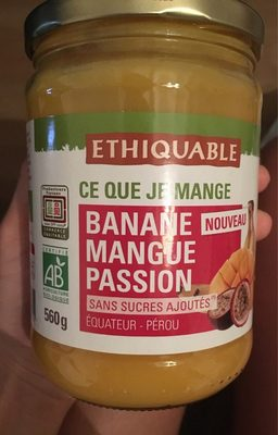 Compote Banane Mangue Passion - Product