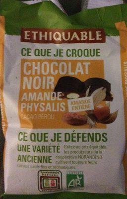 Chocolat noir amande physalis - Produit