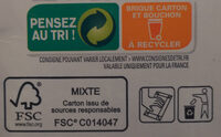 Nectar de mangue - Recycling instructions and/or packaging information - fr