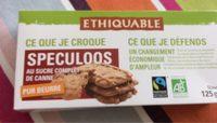 Speculoos Au Sucre Complet De Canne Bio & équitable - Product