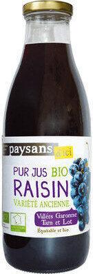Pur jus de raisin Bio - Produto - fr