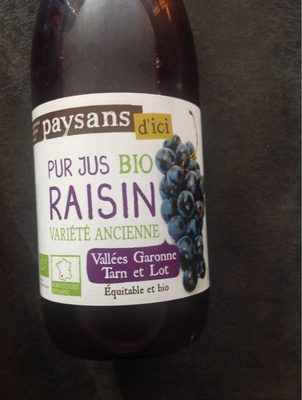 Jus de raisin - Product