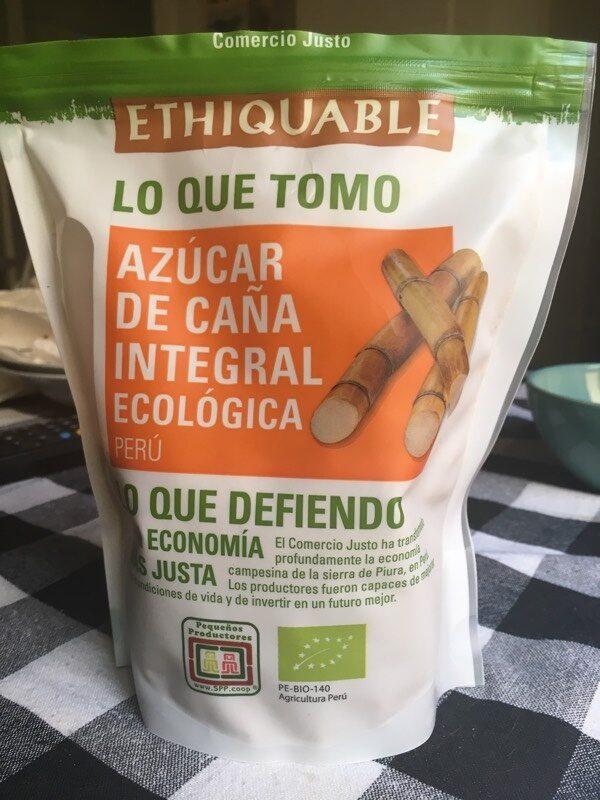Azúcar de caña integral ecológica - Producto - es