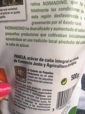Azúcar de caña integral ecológica - Ingredientes - es