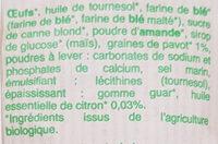 Mini muffins Citron-Pavot - Ingrédients - fr