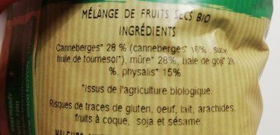 Mix superfruits - Ingrediënten - fr