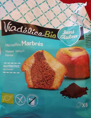 Muffins marbré bio VIADELICE - Produit - fr