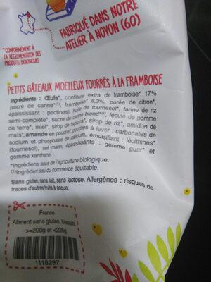 Mini muffins framboise - Product