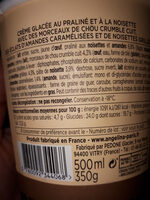 Crème glacée - Ingredienti - fr