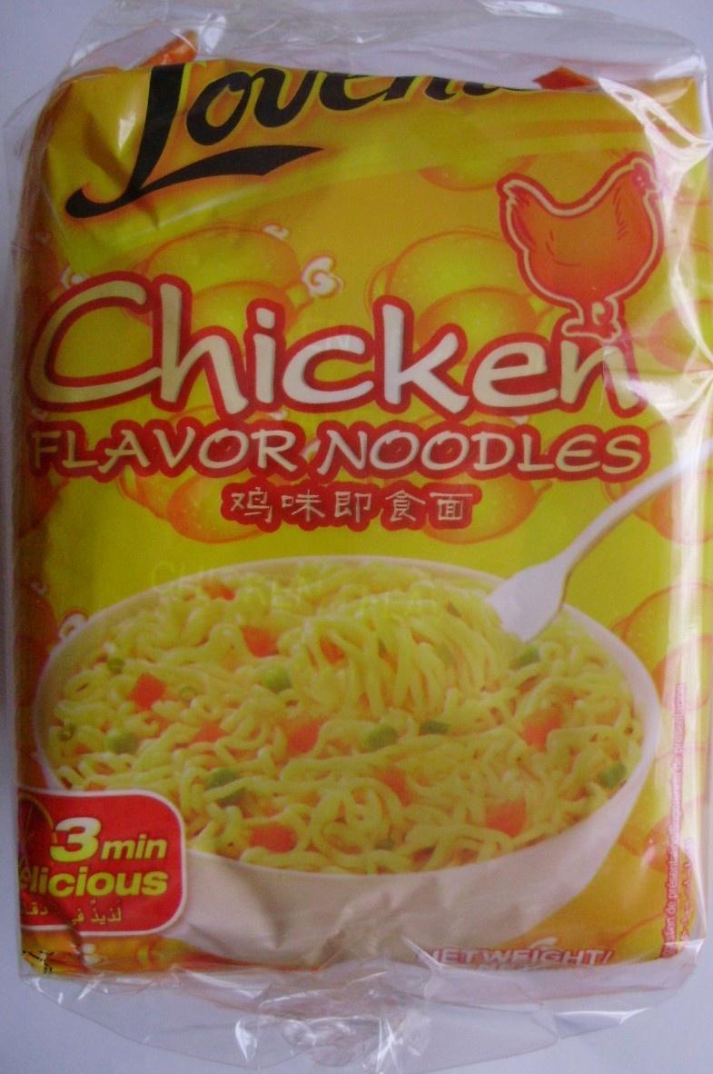 Chicken Flavor Noodles (Lot de 3) - Produit