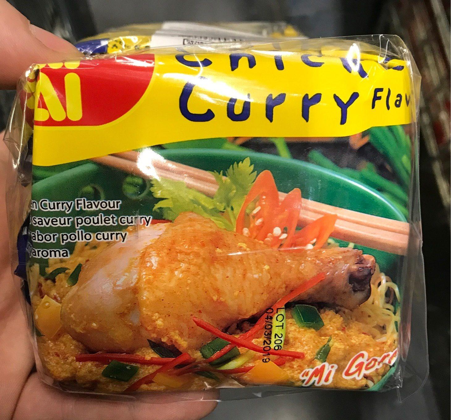 Nouilles instantanées saveur poulet curry - Product - fr