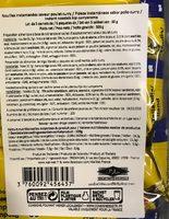 Nouilles Instantanées Goût Poulet - Informations nutritionnelles