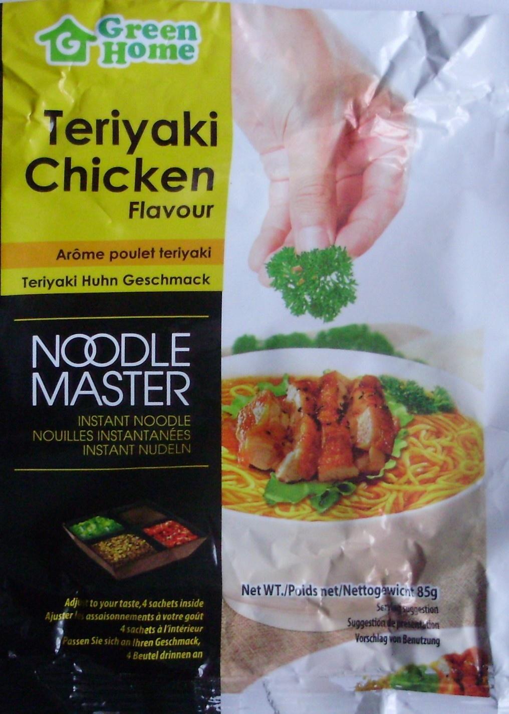 Nouilles instantanées, Arôme poulet teriyaki (Lot de 3) - (Voir 6923744329012 pour sachet individuel) - Product - fr