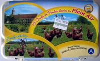 15 Oeufs de Poules élevés en Plein Ait - Product - fr
