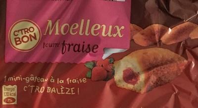 Moelleux fourré Fraise - Product