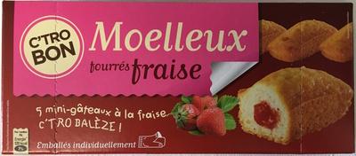 Moelleux fourrés fraise - Produit - fr