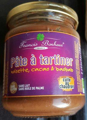 Pâte à tartiner noisette, cacao & baobab - Product - fr